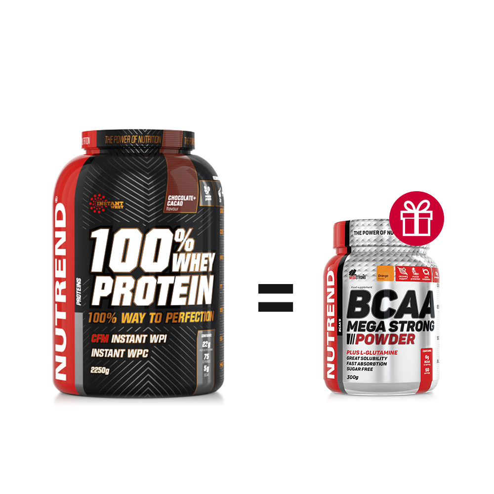 Nutrend Pack 100% Whey BCAA