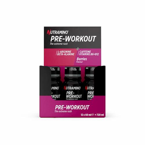 pre workout Pre Workout +Pro Nutramino - Fitnessboutique