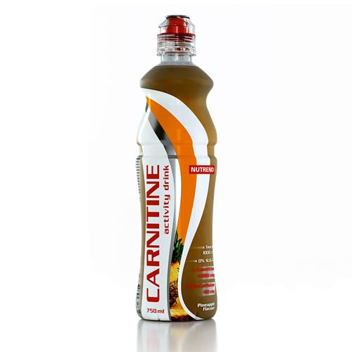 L-Carnitine Carnitine Activity Drink Avec Cafeine Nutrend - Fitnessboutique