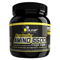Acides aminés Anabolic Amino 5500 Mega Caps