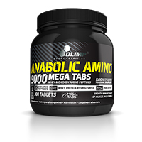 Acides aminés Anabolic Amino 9000 LIVRAISON