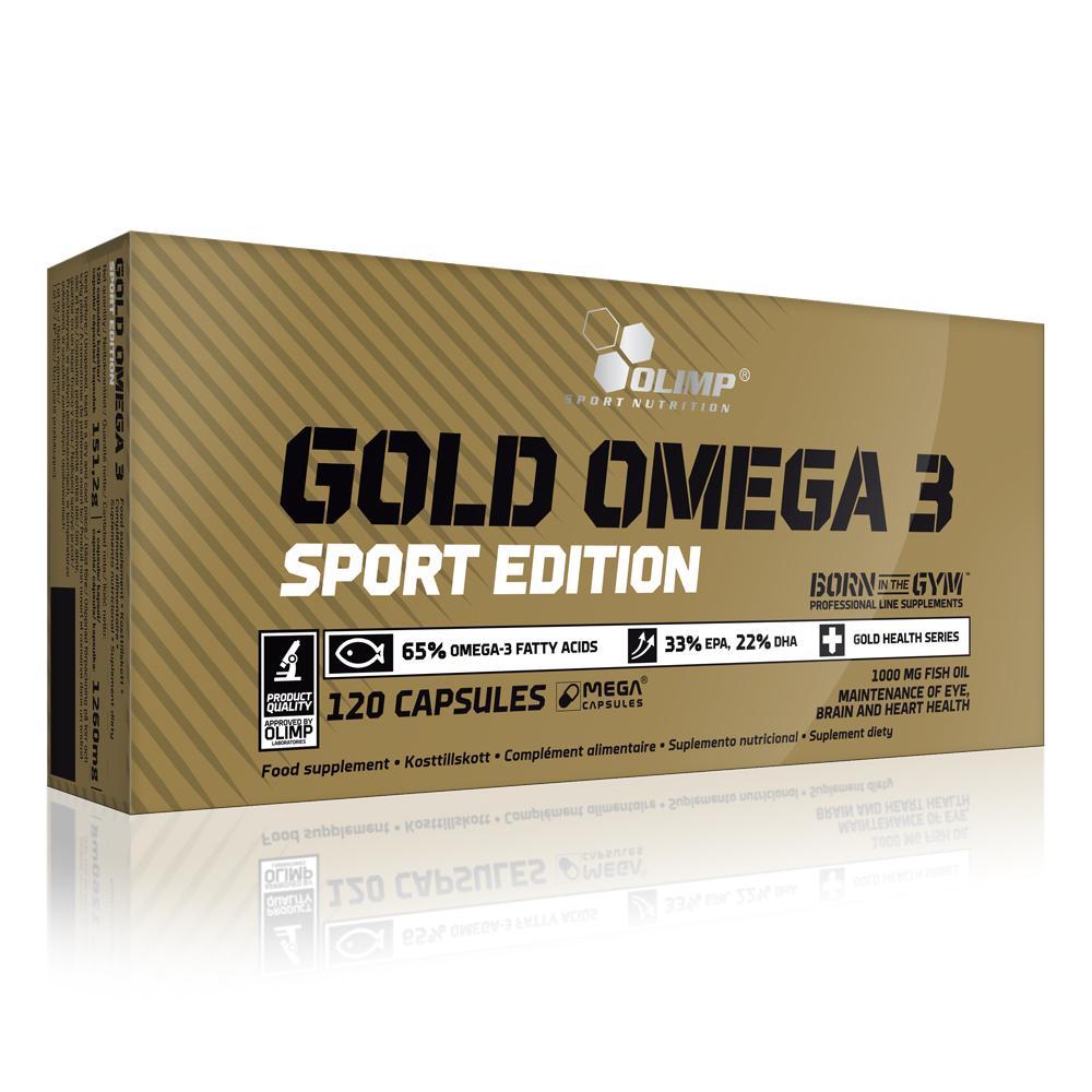 Olimp Nutrition Gold Omega 3 Sport Edition