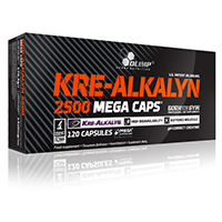 Créatine Kre-alkalyn Olimp Nutrition Kre Alkalyn 2500 Mega Caps