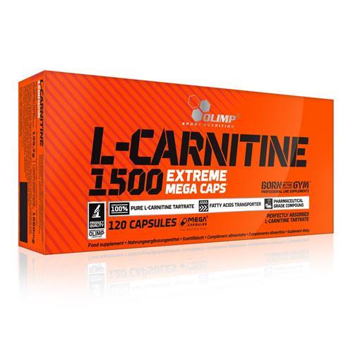 Sèche - Définition Olimp Nutrition L Carnitine 1500 Extreme Mega Caps