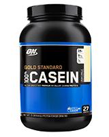 Protéines de sèche 100 % Casein Gold Standard