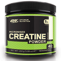 Créatine CreaPure Optimum nutrition Micronized Creatine Powder