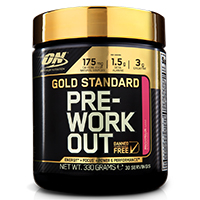 Congestion-N.O. Optimum nutrition Gold Standard Pre Workout