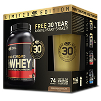 Whey protéine OPTIMUM NUTRITION Pack Anniversaire Gold Standard