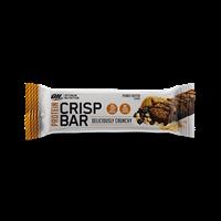 Barres protéinées Protein Crisp Bar Optimum nutrition - Fitnessboutique