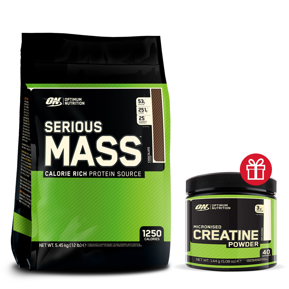 Optimum nutrition Pack Serious Mass Crea