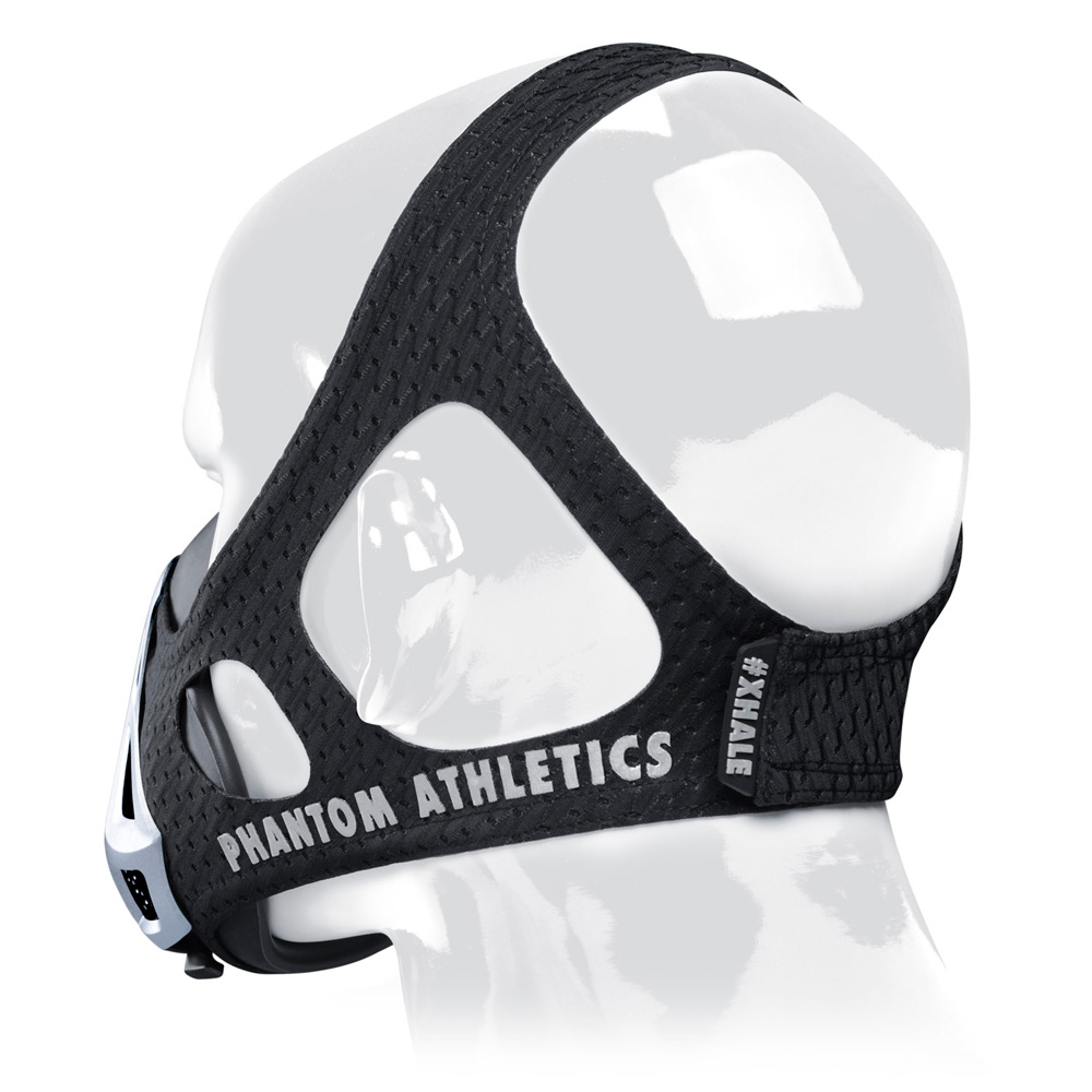 PHANTOM ATHLETICS Training Mask Noir/Argent