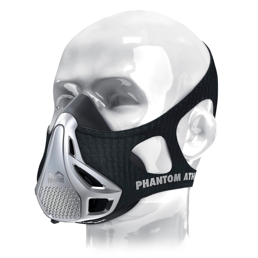 PHANTOM ATHLETICS Training Mask Noir/Argent