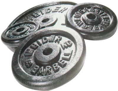 Standard - Diamètre 28mm Weider Disque