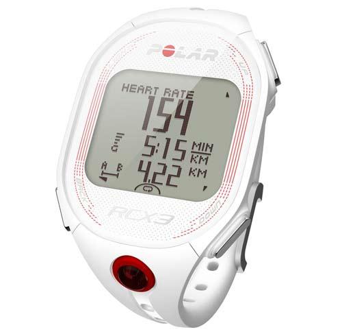 chronomètre montre podomètre Polar RCX3 White Femme