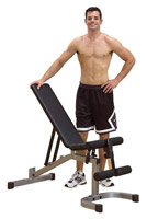 Banc de musculation Banc Plat Incliné Décliné Powerline - Fitnessboutique