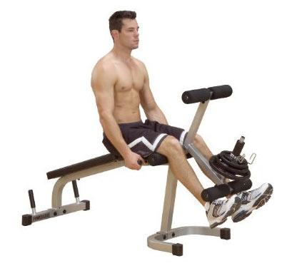 Powerline Banc leg extension et curl