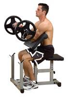 Poste pour les bras Powerline Pupitre Biceps
