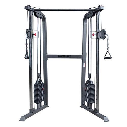 Appareil de musculation Functional Trainer 2 X 75 KG Powerline - Fitnessboutique