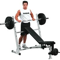 Banc de musculation POB44X Powerline - Fitnessboutique