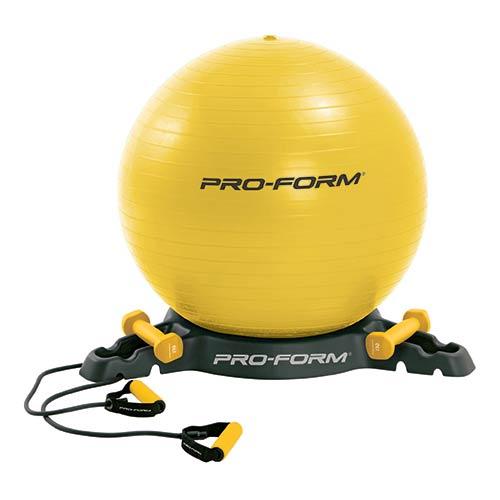 Médecine Ball et Balle lestée Proform Kit Antiburst Gym Ball