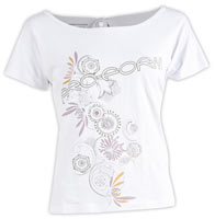 Proform Wellness Printed Cap Sleeve Top
