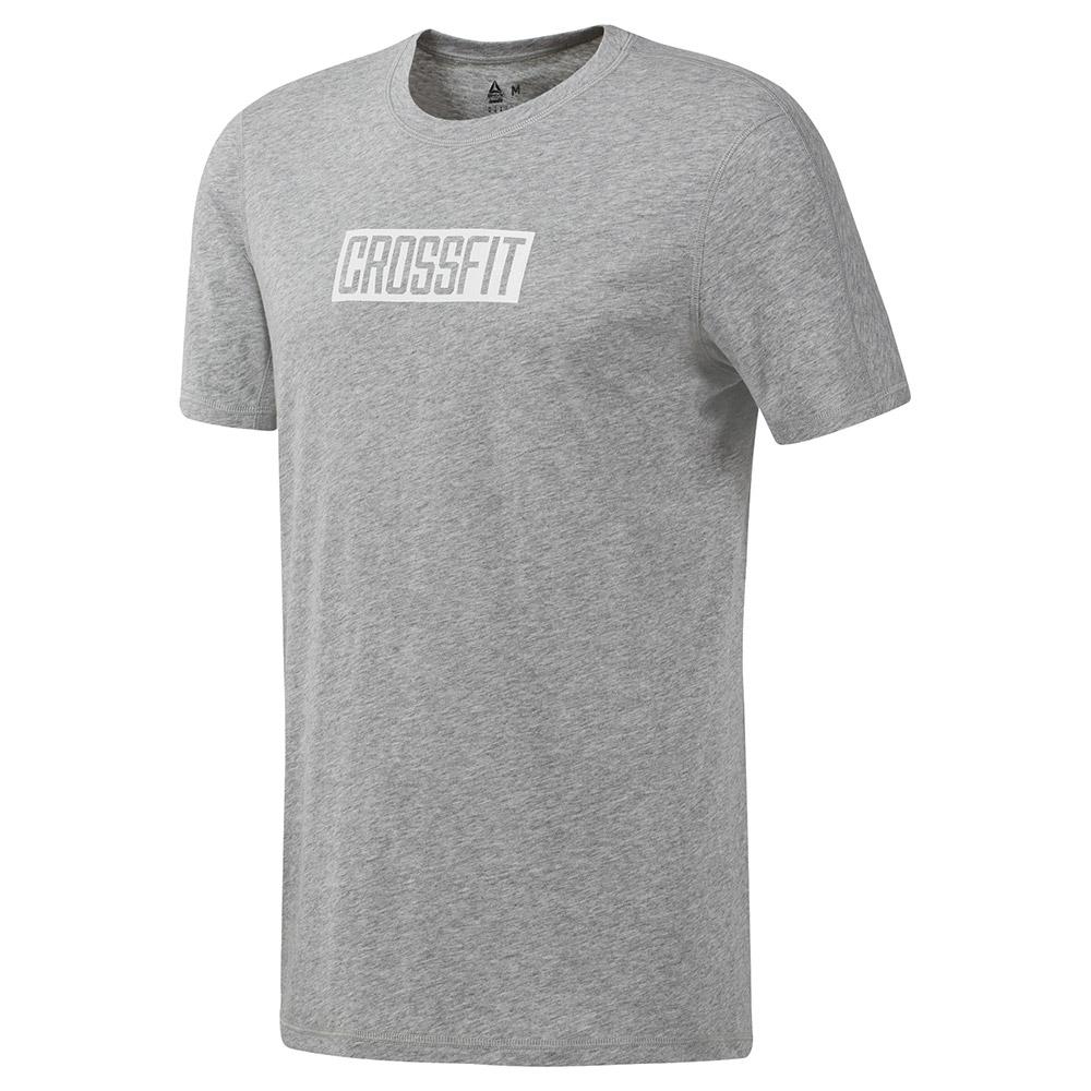 Reebok T Shirt Reebok Crossfit C Graphic Move Gris