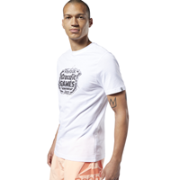 T-shirts T Shirt Crossfit® Distressed Crest Reebok - Fitnessboutique