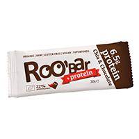 Barres protéinées ROOBAR RooBar Bio Chia Chocolat