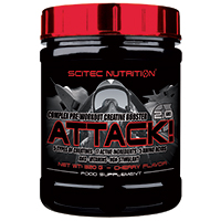 pre workout Attack 2
