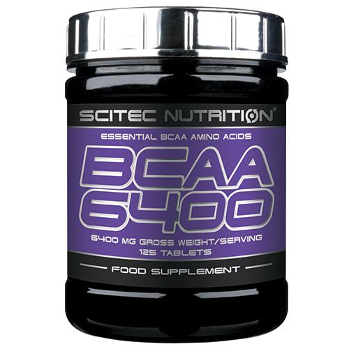 acides amin s scitec nutrition bcaa 6400 pot de 125 comprim s pot de 125 comprim s. Black Bedroom Furniture Sets. Home Design Ideas