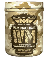 pre workout Scitec nutrition War Machine