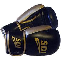 Gant de boxe Gants Velcro Sparco Noir/Bronze 10 Oz