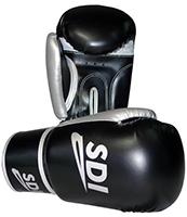 Gant de boxe Gants Velcro Sparco Noir/Argent 10 Oz