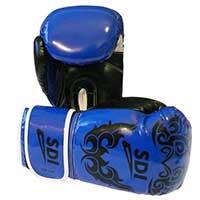 Gant de boxe Gants Boxe Sentoo Bleu 8 Oz
