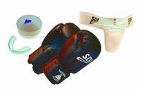 Gant de boxe Kit Training kid Junior 6 oz multiboxe.