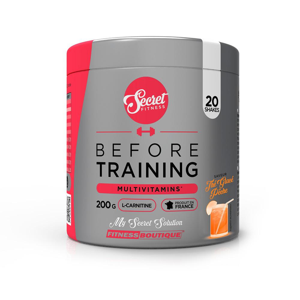 Vitamines et Minéraux Secret Fitness Before Training