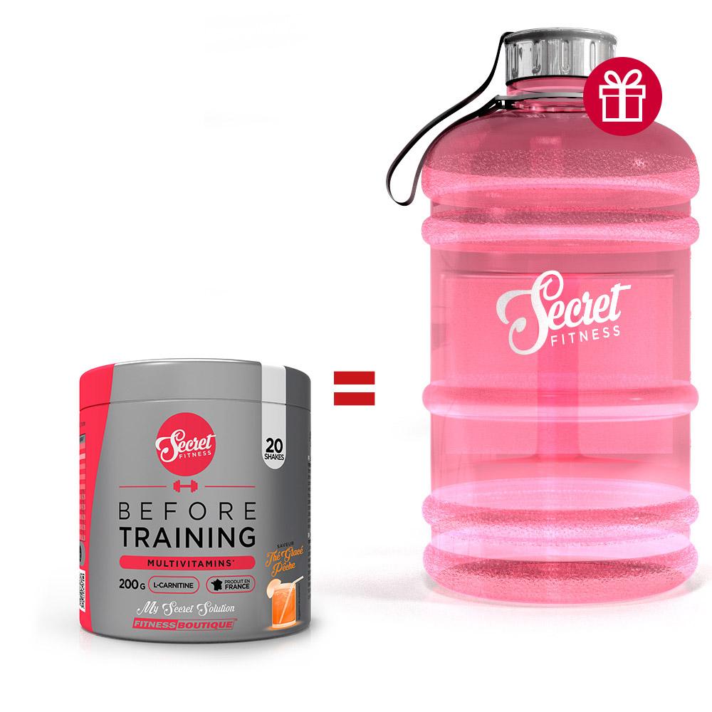 Secret Fitness Pack Before Training Big Bottle