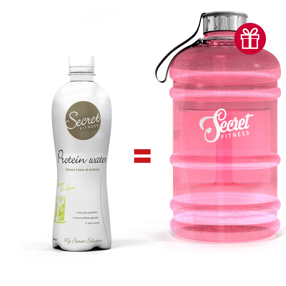 Secret Fitness Pack Protein Water Big Bottle