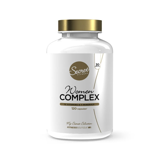 Vitamines et Minéraux Women Complex Secret Fitness - Fitnessboutique
