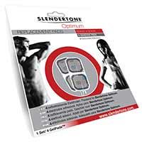 Electrostimulation Electrodes Optimum (5 x 5 cm) X 4 Slendertone - Fitnessboutique