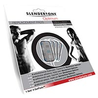Electrostimulation Electrodes Optimum (5 x 10 cm) x 4 Slendertone - Fitnessboutique