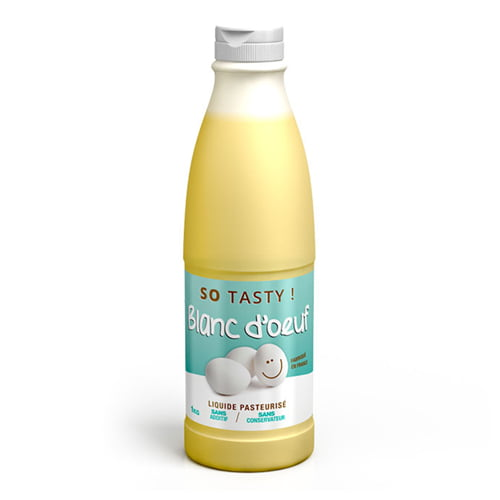 Protéines SoTasty Blanc Oeuf Liquide