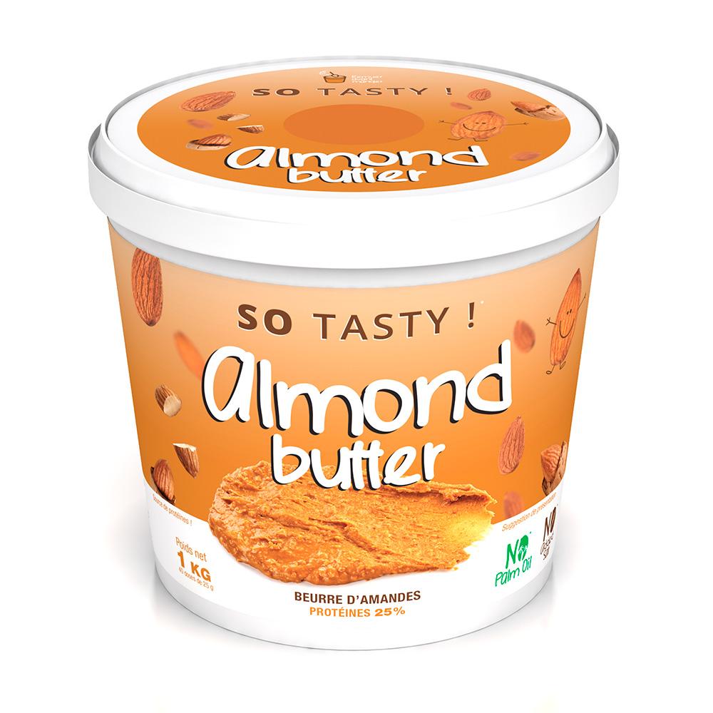 SoTasty Amandes à Tartiner Crunchy / Pâte à tartiner