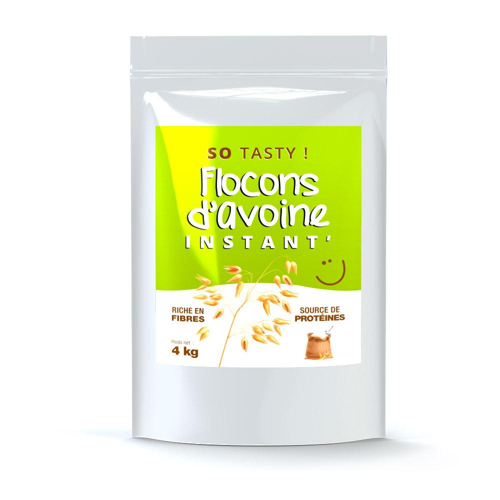 SoTasty Flocons Avoine Instant' en Poudre