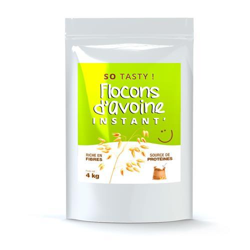 Flocons d'Avoine Flocons Avoine Instant' en Poudre SoTasty - Fitnessboutique