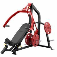 Postes Isolés Dual Plate Load  - Chest press / Shoulder press SteelFlex - Fitnessboutique
