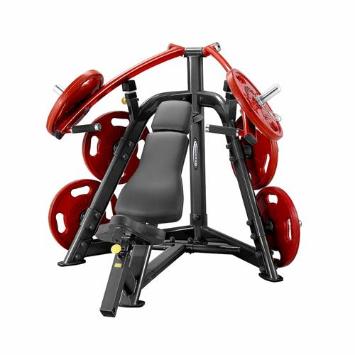 Postes Isolés SteelFlex Plate Load Incline Chest Press