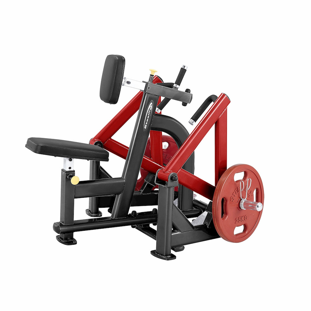 Postes Isolés SteelFlex Plate Load Seated Row