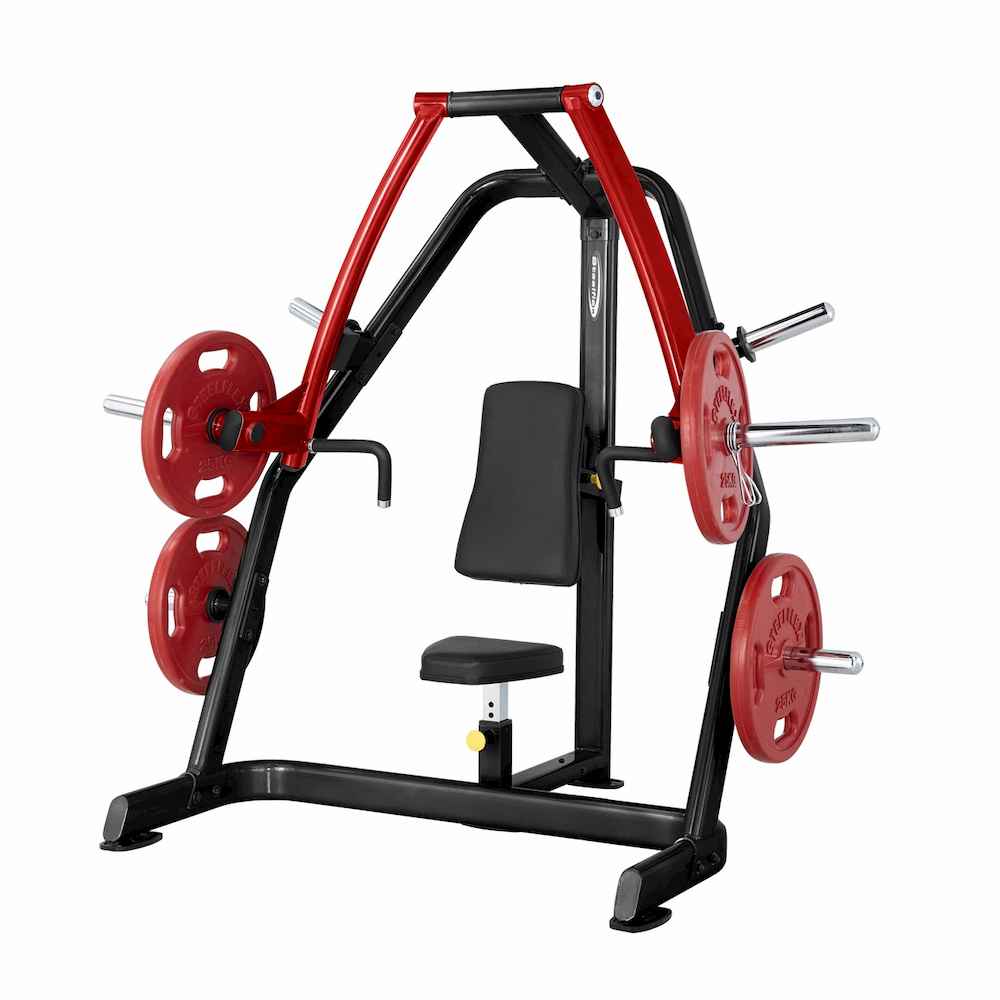 SteelFlex Plate Loaded Seated Chest Press
