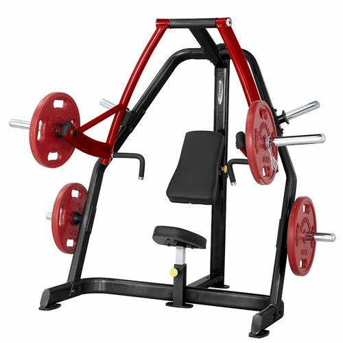 Postes Isolés Plate Loaded Seated Decline Press